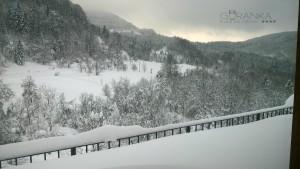 Zimska panorama iz sobe